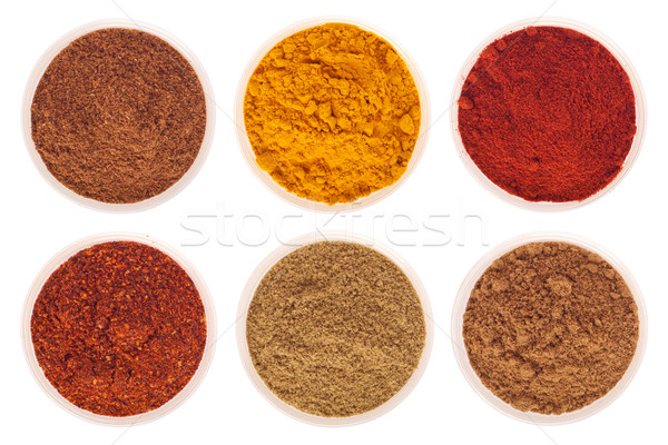 Indian spices Stock photo © luissantos84