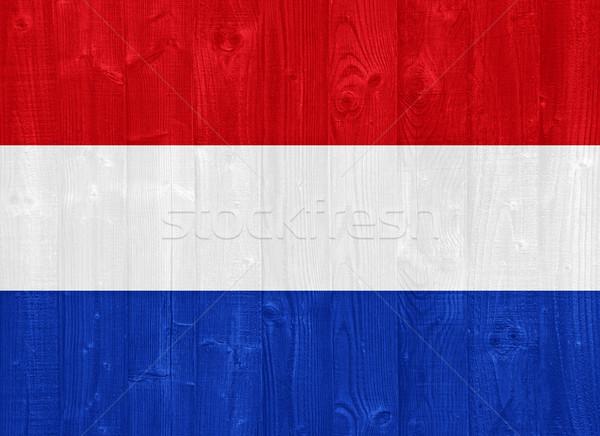 Netherlands flag Stock photo © luissantos84
