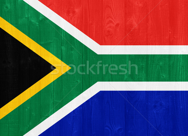 South Africa flag Stock photo © luissantos84