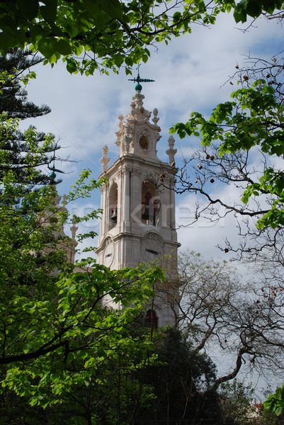Basilica Da Estrela (Church) in Lisbon, Portugal Stock photo © luissantos84
