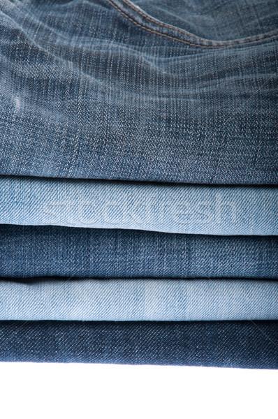 Jeans isolato bianco luce Foto d'archivio © luissantos84