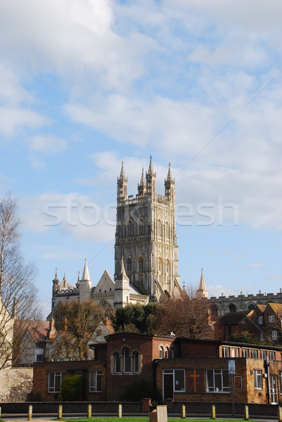 Gloucester Cathedral Stock photo © luissantos84