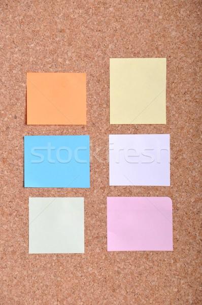 Notas boletim conselho muitos colorido notas Foto stock © luissantos84