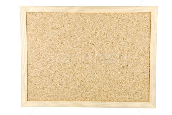Parafa tábla fehér üres izolált hely üzenetek Stock fotó © luissantos84