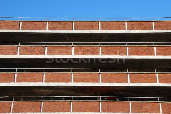Multi-storey car park Stock photo © luissantos84