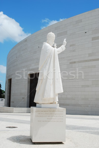 Pope Pio XII in Sanctuary of Fatima Stock photo © luissantos84