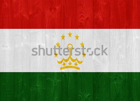 Tajikistan flag Stock photo © luissantos84