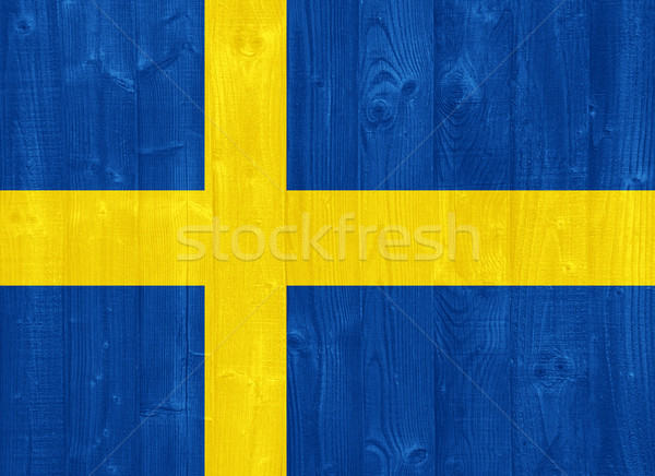 Sweden flag Stock photo © luissantos84