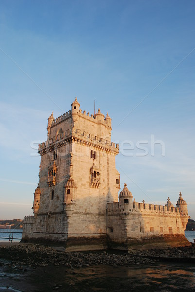 Belem Tower in Lisbon, Portugal Stock photo © luissantos84