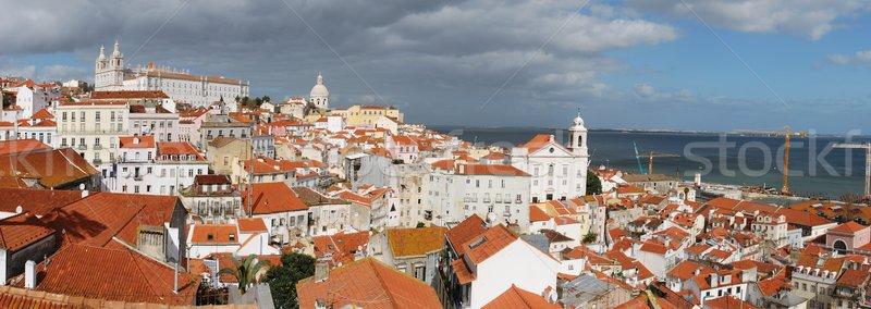 Lisbon cityscape Stock photo © luissantos84