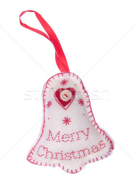 Natale decorazione allegro albero appendiabiti Foto d'archivio © luissantos84