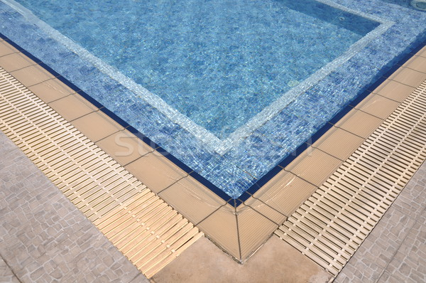 ジャグジー プール 青 美しい 夏 スパ ストックフォト © luissantos84