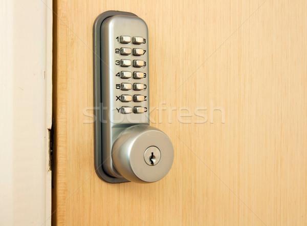 Door lock Stock photo © luissantos84