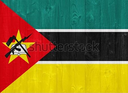 Mozambique flag Stock photo © luissantos84
