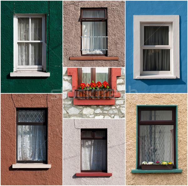 Irish windows Stock photo © luissantos84