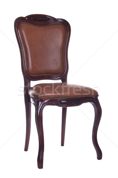 Leather chair Stock photo © luissantos84