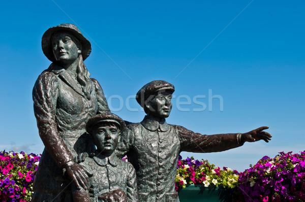 The Annie Moore Memorial Stock photo © luissantos84