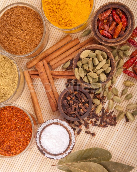 Spices and herbs Stock photo © luissantos84