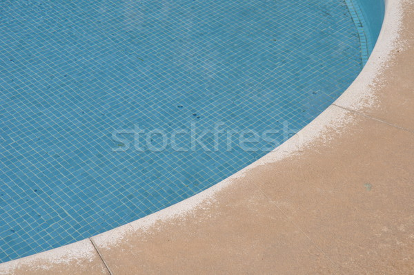 Blue and vibrant swimming pool side Stock photo © luissantos84