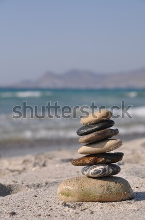 Pebble stack Stock photo © luissantos84