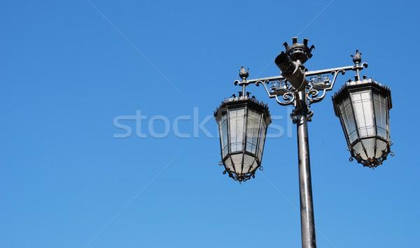 Street lamp posts Stock photo © luissantos84