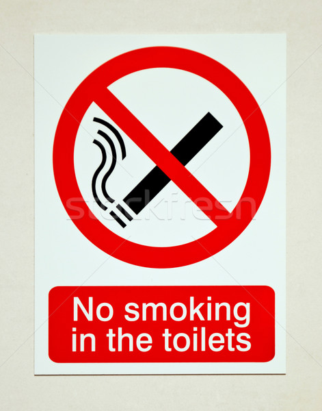 No smoking sign Stock photo © luissantos84