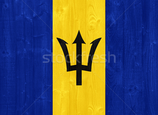 Barbados flag Stock photo © luissantos84