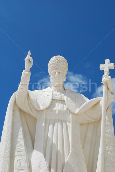 Pope Pio XII in Sanctuary of Fatima Stock photo © luissantos84