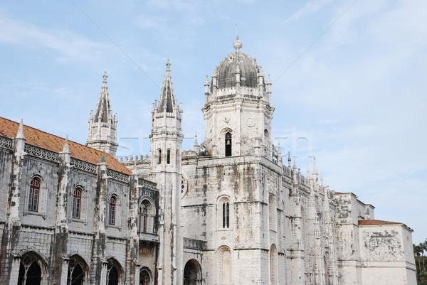 Hieronymites Monastery in Lisbon Stock photo © luissantos84