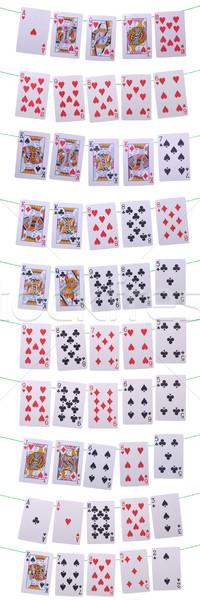 Poker hands rankings Stock photo © luissantos84