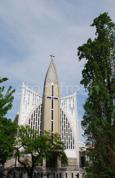 Stock photo: Nossa Senhora Auxiliadora Church in Lisbon