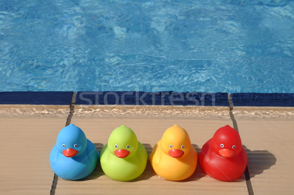 Rubber ducks Stock photo © luissantos84