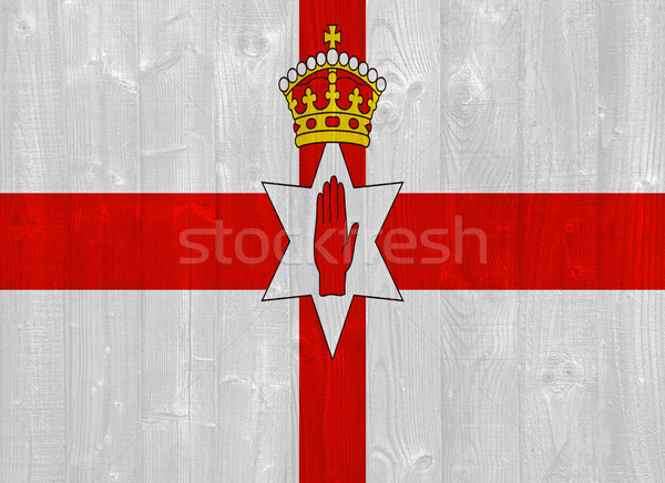 Northern Ireland flag Stock photo © luissantos84