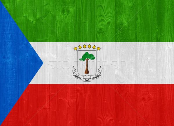 Equatorial Guinea flag Stock photo © luissantos84