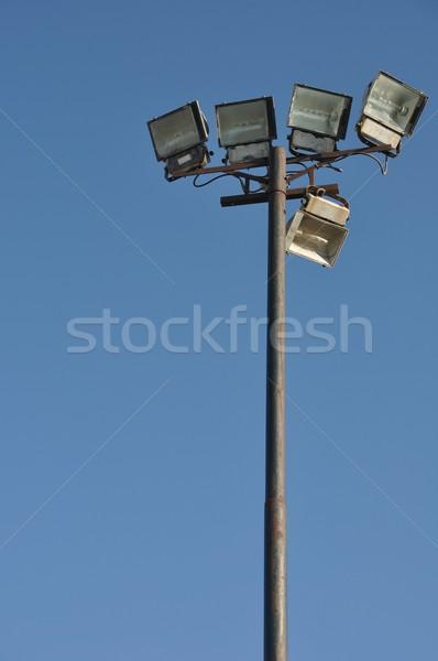 Stadium lights pole Stock photo © luissantos84