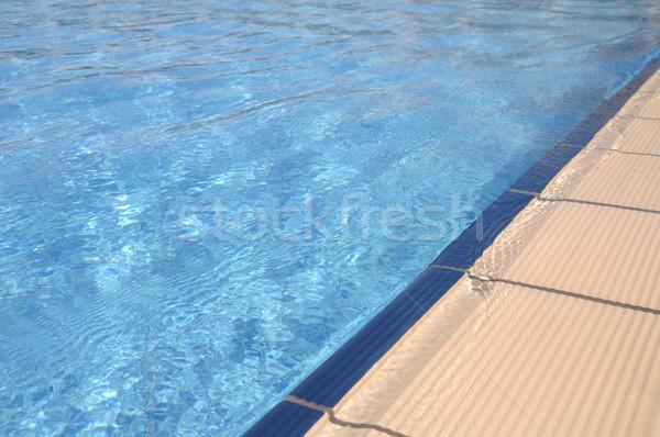 Swimming pool side Stock photo © luissantos84