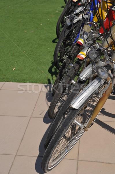 Bicycles row Stock photo © luissantos84