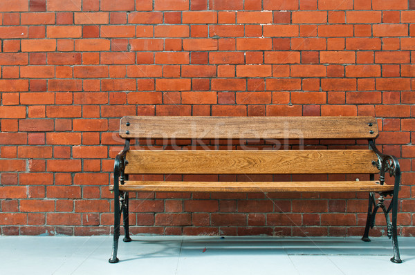 Wooden bench Stock photo © luissantos84