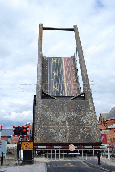 Drawbridge in Gloucester Stock photo © luissantos84