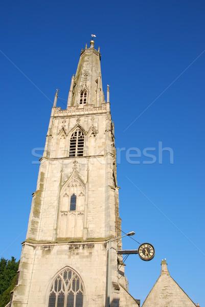 St Nicholas church in Gloucester Stock photo © luissantos84