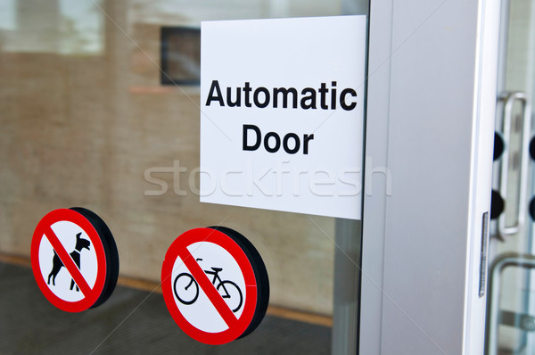 Automatic door Stock photo © luissantos84