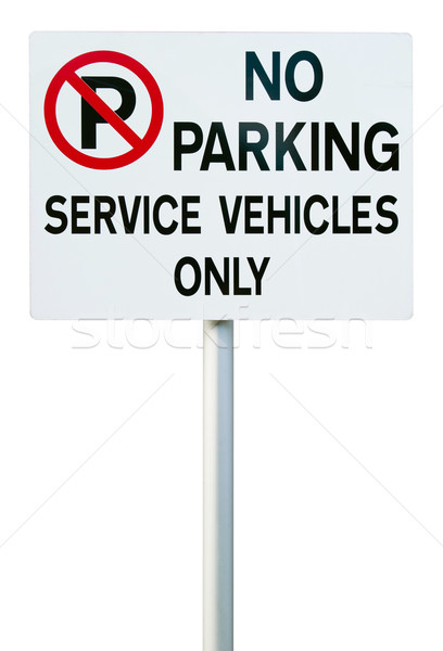 No parking sign Stock photo © luissantos84