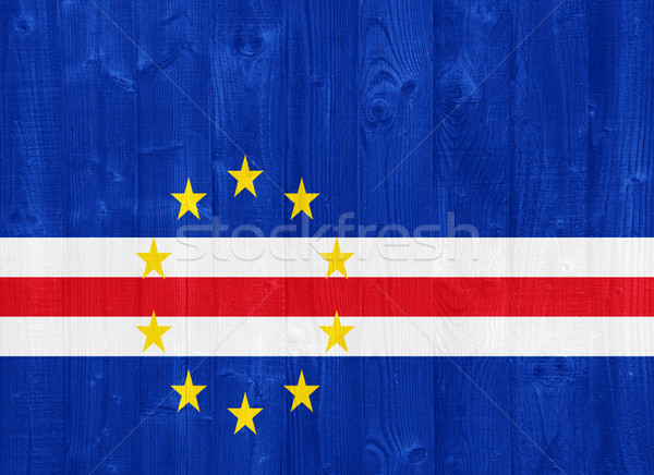 Cape Verde flag Stock photo © luissantos84
