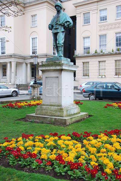 Edward Adrian Wilson statue in Cheltenham Stock photo © luissantos84