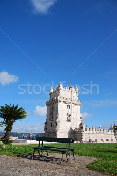 Toren Lissabon Portugal een beroemd Stockfoto © luissantos84