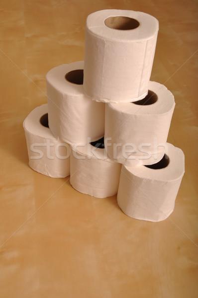 Toilet paper rolls Stock photo © luissantos84