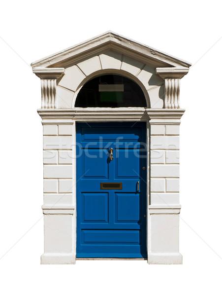 Irish building door Stock photo © luissantos84
