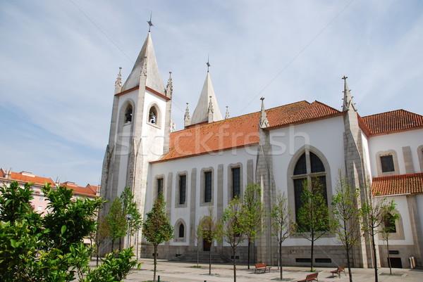 Santo Condestavel Church in Lisbon Stock photo © luissantos84