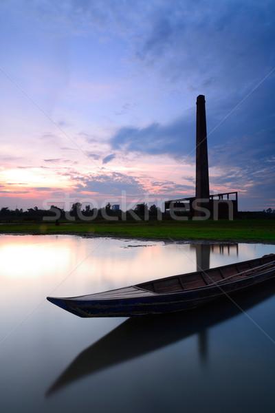 Old Mill Stock photo © lukchai
