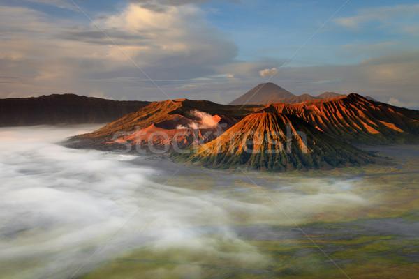 Paraíso céu nascer do sol asiático Ásia Foto stock © lukchai